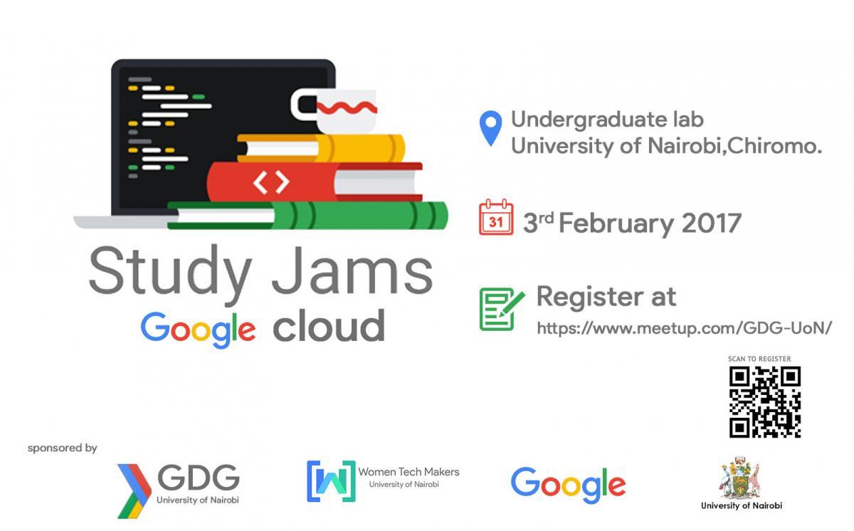 Google Cloud Study Jam University of Nairobi   School of Computing